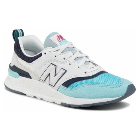 Sneakersy NEW BALANCE - CW997HAZ Biały Niebieski