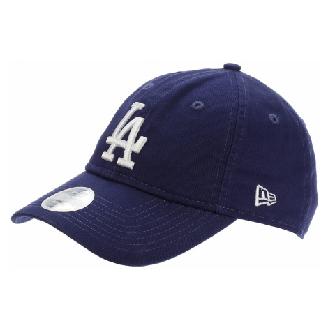 czapka z daszkiem New Era 9T Team Unstructured Wash MLB Los Angeles Dodgers - Dark Royal