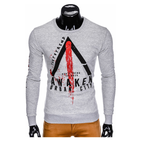 Inny Men's printed sweatshirt B816