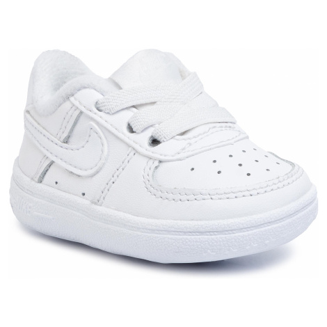 Buty NIKE - Force 1 Crib CK2201 100 White