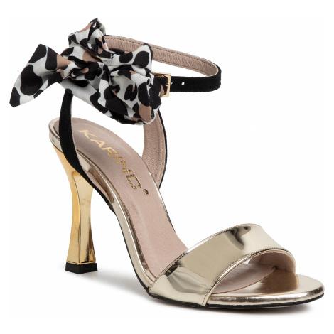 Sandały KARINO - 3350/074-P Złoty