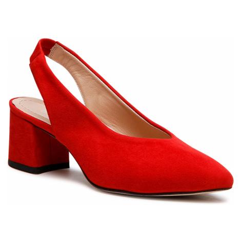 Sandały BADURA - B4011-69 Czerwony 193