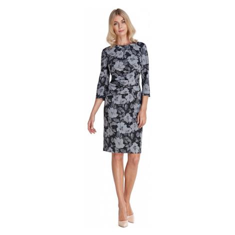 Sukienka z marszczeniami w talii Colett