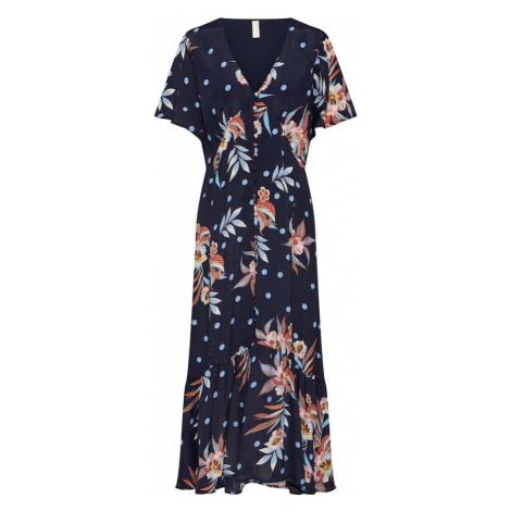 Y.A.S Letnia sukienka 'Solira' niebieska noc / mieszane kolory