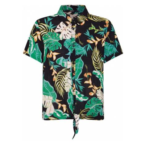 ONLY Bluzka 'JONA' zielony / różowy pudrowy / czarny