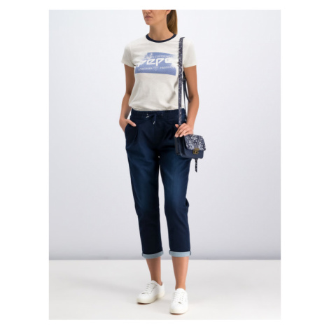 Pepe Jeans T-Shirt PL504173 Beżowy Regular Fit
