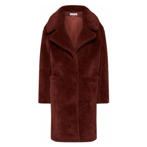 EDITED Płaszcz zimowy 'Bianca' rdzawobrązowy
