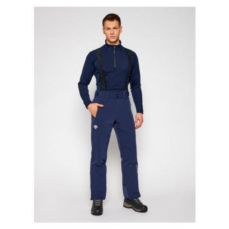 Descente Spodnie narciarskie Swiss DWMQGD40 Granatowy Tailored Fit