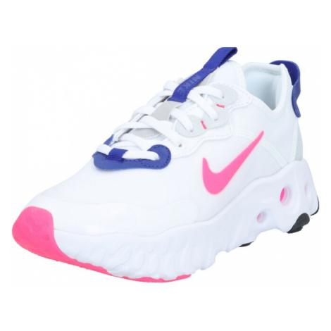 Nike Sportswear Trampki niskie 'REACT ART3MIS' różowy / biały / niebieski