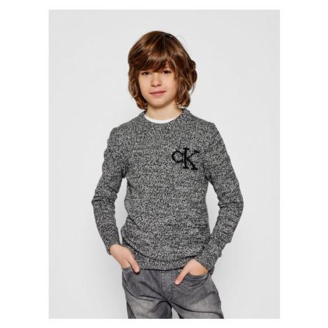 Calvin Klein Jeans Sweter IB0IB00620 Kolorowy Regular Fit