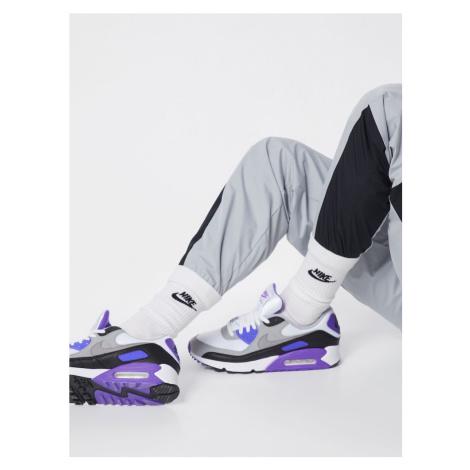 Nike Sportswear Trampki niskie 'Nike Air Max 90' fioletowy / szary