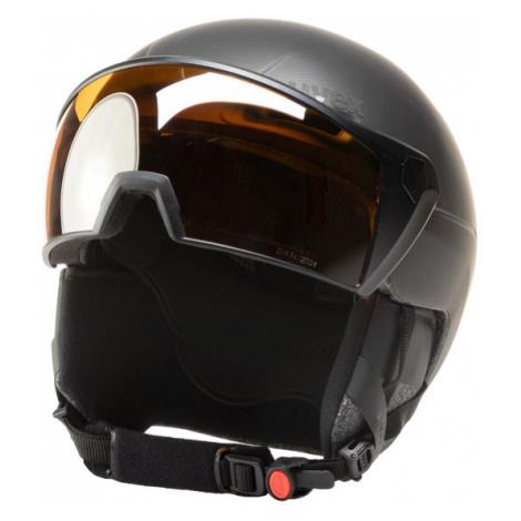 Uvex Kask narciarski Hlmt 700 Visor 5662372007 Czarny