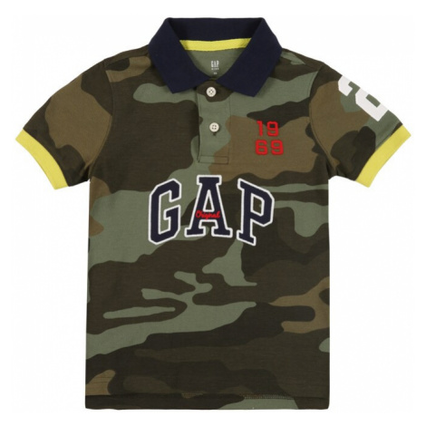 GAP Koszulka oliwkowy / khaki