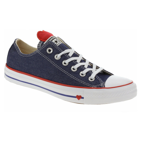 buty Converse Chuck Taylor All Star OX - 163308/Indigo/Enamel Red/White