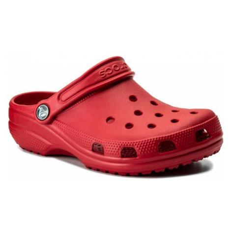 Crocs Klapki Classic Clog K 204536 Czerwony