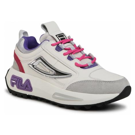 Sneakersy FILA - Chunky Runner Wmn 1011023.84D White/Cerise
