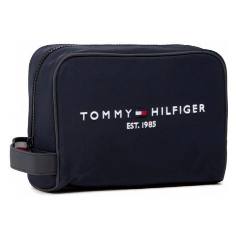 Tommy Hilfiger Kosmetyczka Th Established Washbag AM0AM07306 Granatowy