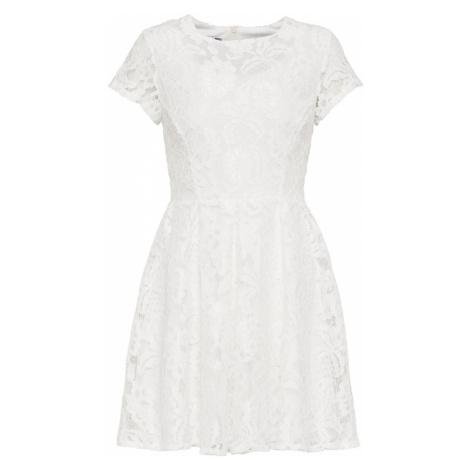 WAL G. Sukienka koktajlowa biały