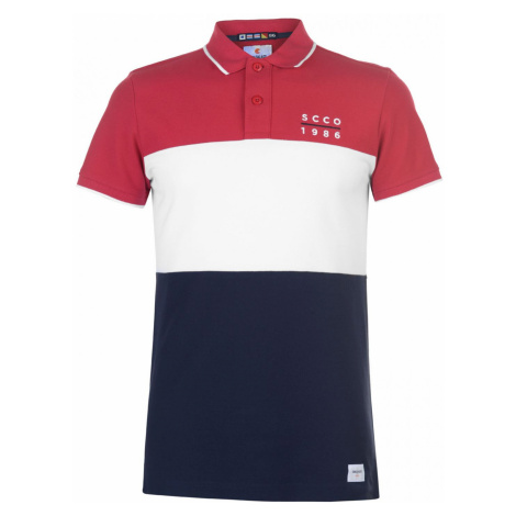 SoulCal Deluxe 3 Panel Polo Shirt Soulcal & Co