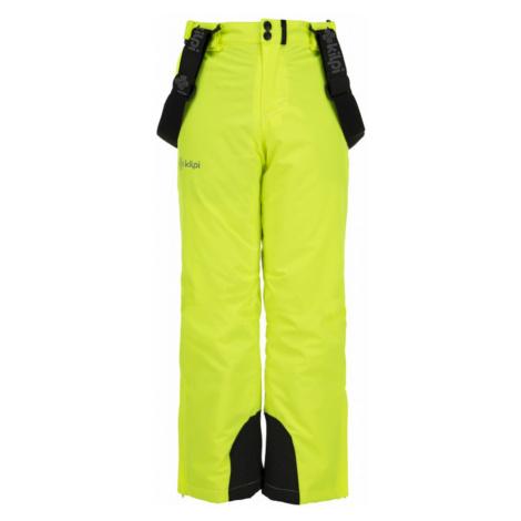 Chłopięce spodnie narciarskie Methone-jb żółty - Kilpi