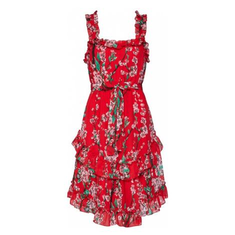 VILA Letnia sukienka 'Esme' czerwony