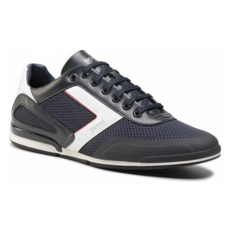 Boss Sneakersy Saturn 50445677 10230782 01 Granatowy Hugo Boss