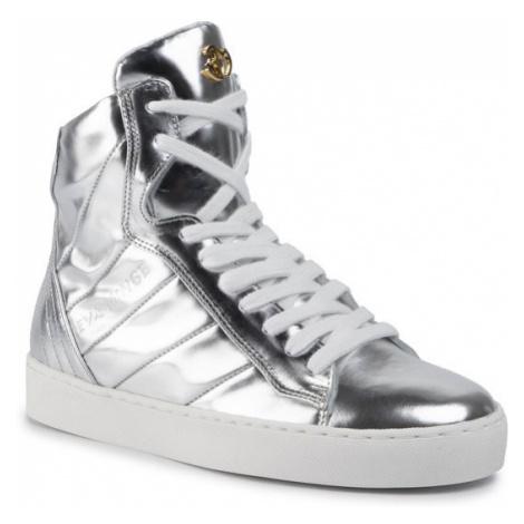 Eva Minge Sneakersy EM-33-06-000272 Srebrny