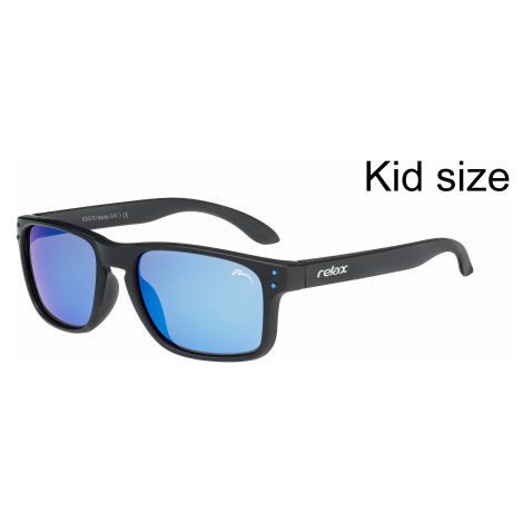 okulary Relax Melite - R3067D/Matte Black/Gray Cloud/Iceblue Platinum