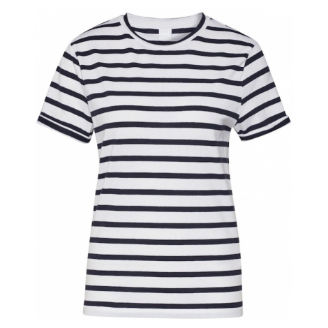 BOSS Koszulka 'Tespring' biały / niebieski Hugo Boss