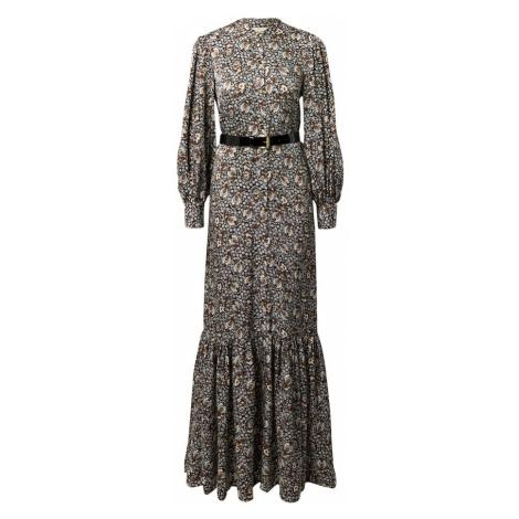 MICHAEL Michael Kors Sukienka karmelowy / czarny / biały / beżowy