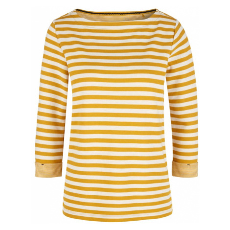 S.Oliver Koszulka złoty żółty / offwhite