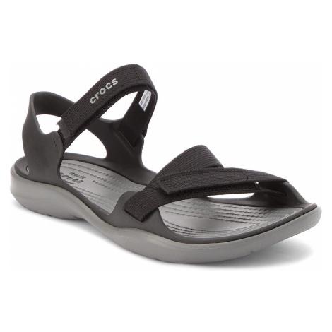 Sandały CROCS - Swiftwater Webbing Sandal W 204804 Black