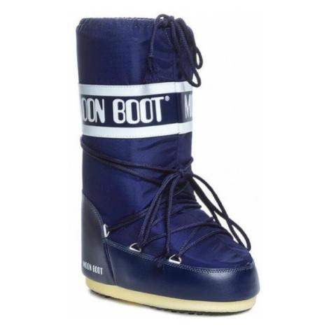Moon Boot Śniegowce Nylon 14004400002 Granatowy
