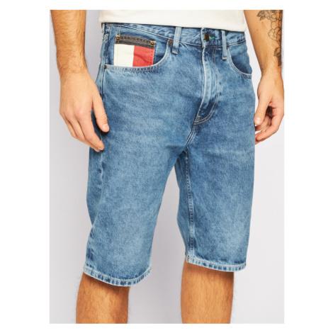 Tommy Jeans Szorty jeansowe Rey DM0DM08049 Niebieski Regular Fit Tommy Hilfiger