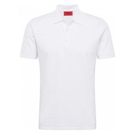 HUGO Koszulka 'Dohran 10205383 01' biały Hugo Boss