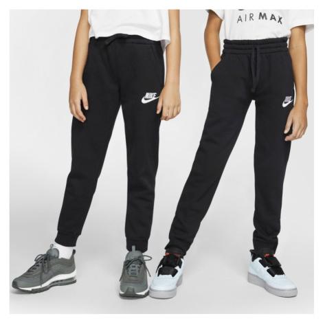 Spodnie dla dużych dzieci Nike Sportswear Club Fleece - Czerń
