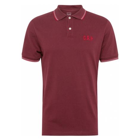 GAP Koszulka 'FRANCH' czerwone wino