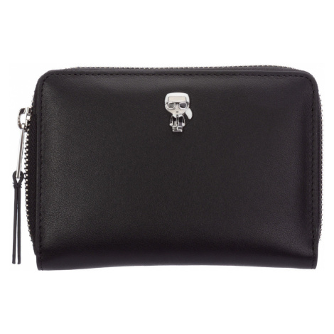Wallet leather coin case holder purse card Karl Lagerfeld