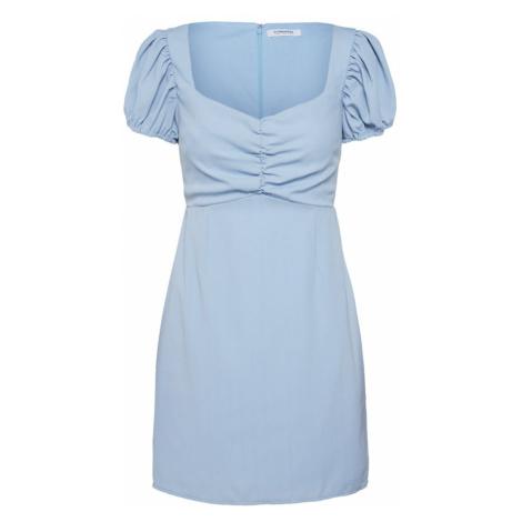 GLAMOROUS Letnia sukienka jasnoniebieski