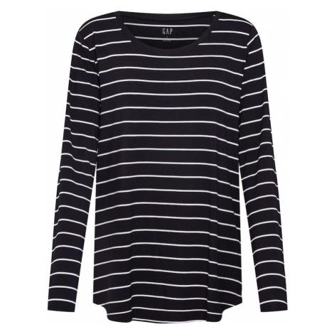 GAP Koszulka czarny / biały