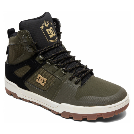 buty DC Pure High -Top WR - OB2/Olive/Black