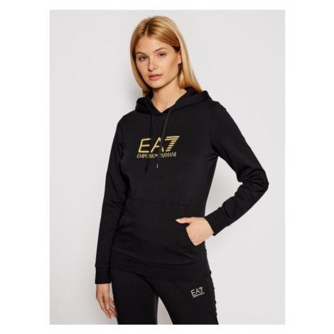 EA7 Emporio Armani Bluza 8NTM40 TJ31Z 0200 Czarny Regular Fit