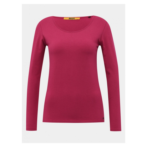 Dark Pink Women's Basic T-Shirt ZOOT Baseline Molly