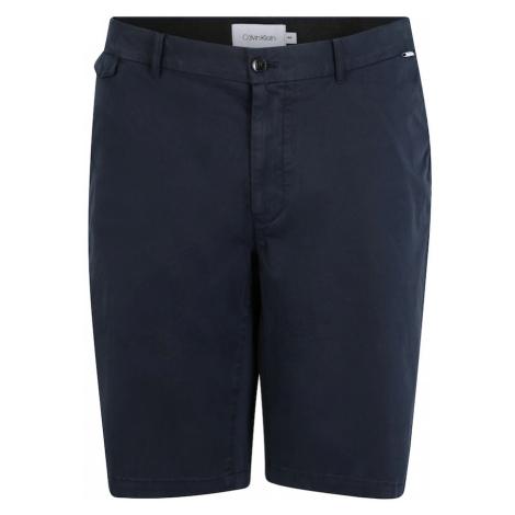 Calvin Klein Spodnie granatowy