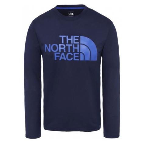 The North Face FLEX 2 BIG LOGO LS M granatowy L - Koszulka męska