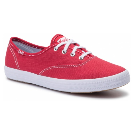 Tenisówki KEDS - Champion KWF31300 Red Canvas