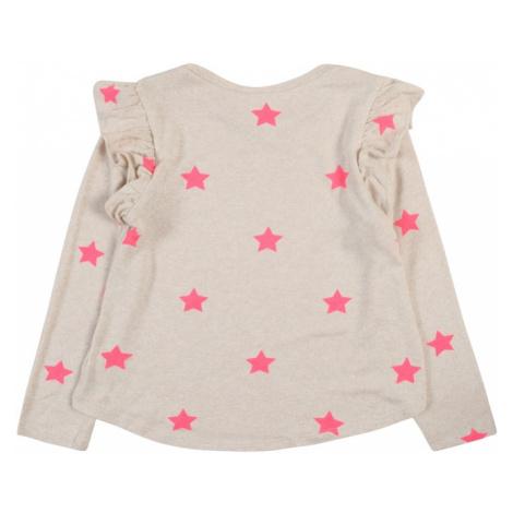 GAP Koszulka beżowy / różowy