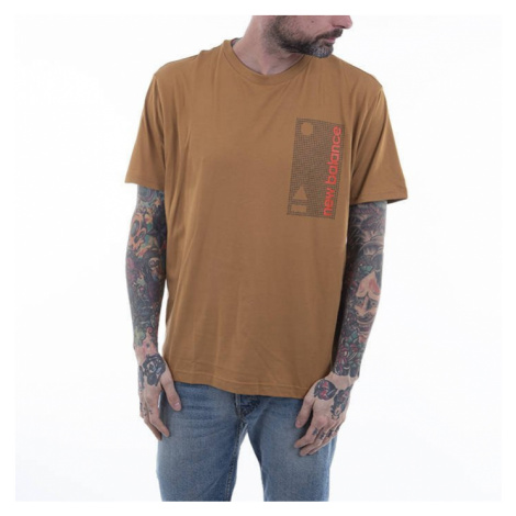 Koszulka męska New Balance Essentials Terrain Grid MT03553WWK