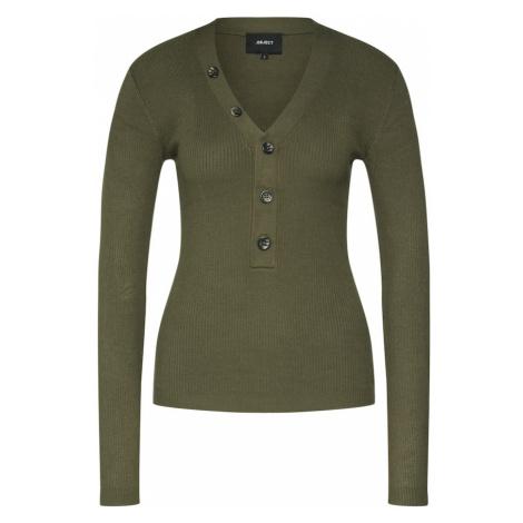 OBJECT Sweter 'OBJNINA' oliwkowy