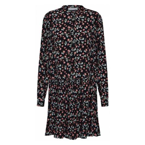 EDITED Sukienka koszulowa 'Elodie' mieszane kolory / czarny